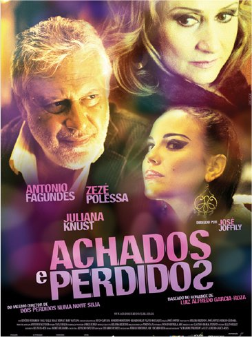 Filme Poster Achados e Perdidos DVDRip RMVB Nacional